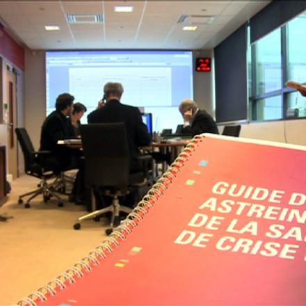 Gestion de crise à la SNCF